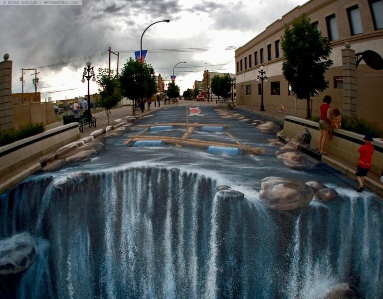 3d Street Art3.Kurt Wenner