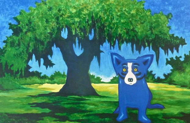 Blue Dog Oak