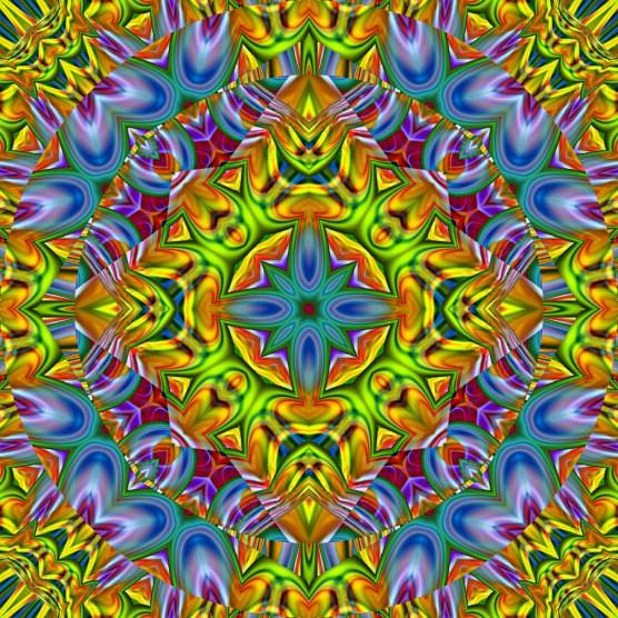 Kaleidoscope_Dandelions_by_TastesLikePurple