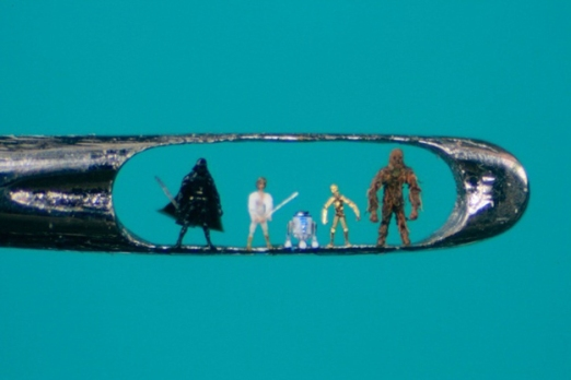 Willard-Wigan-Needle-Art-Star Wars