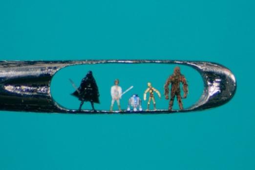 Willard-Wigan-Needle-Art-Star Wars
