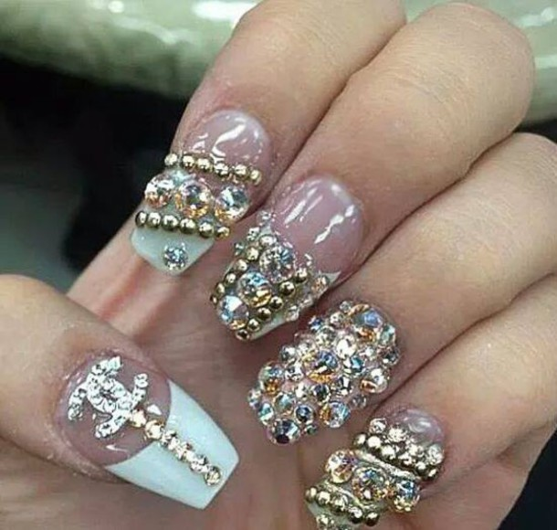 Diamonds Nail Art Design Ideas: Sunday Evening Art Gallery