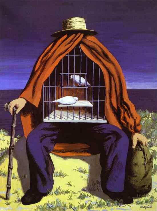 La-Thérapeute-Rene-Magritte-1941