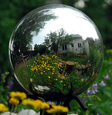 gazing-globe