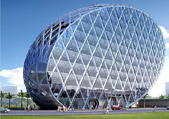 CyberTecture-Egg-Building