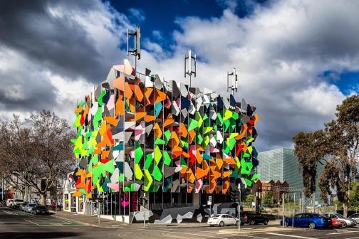 Pixel Building-Melbourne