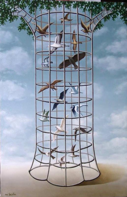Mihai Criste 1975 - Romanian Surrealist painter - Tutt'Art@ (7)