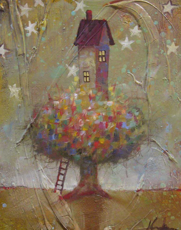 sarah-kaufman_treehouse-at-dusk